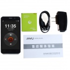 "JIAYU G5 MT6589T Quad-Core Android 4.2 WCDMA Phone w/ 4.5"" IPS Gorilla Glass, 4GB ROM, 13MP - Black"