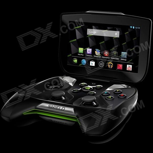 "NVIDIA Project Shield 5.0"" IPS Tegra 4 Android 4.2 Handheld Game Console - Black + Silver"