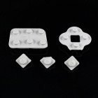 Replacement buttons kit for saitek p2600 / 2500 / 990 / 880 - grey (5-piece pack)