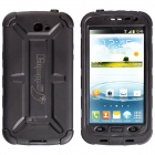 Redpepper Ultra-Thin Waterproof Dirtproof Snowproof Protective Case for Samsung Galaxy Note 2 -Black