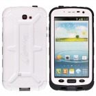 Redpepper Ultra-Thin Waterproof Dirtproof Snowproof Protective Case for Samsung Galaxy Note 2- White