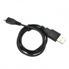 USB Male to Micro USB Male Charging Cable for PS4 - Black (80 cm)