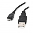 USB macho a Micro USB macho cable de carga para PS4 - Negro