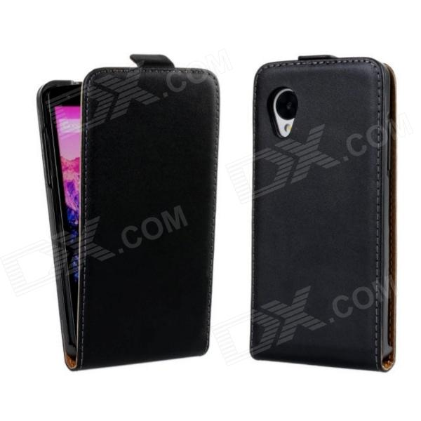 Protective PU Leather Case Cover for LG Nexus 5 E980 / D820 / D821 - Black