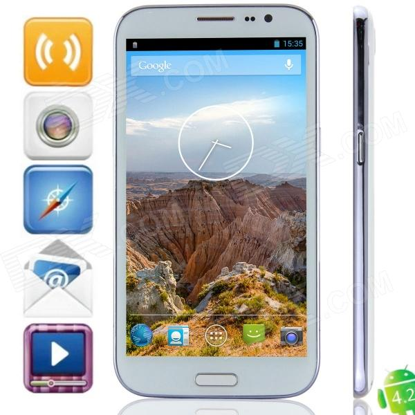 JIAKE V8 MTK6592 Octa-Core Android 4.2.2 WCDMA Bar Phone w/ 6.0