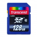 Transcend Class 10 SD Card - Deep Blue (128 GB)