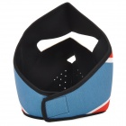 War Game Protection Synthetic Rubber Mask - Blue + Red + White