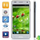 "W9002 MTK6582 Quad-Core Android 4.2.2 WCDMA Bar Phone w/ 4.5"", FM, Wi-Fi, GPS - White"