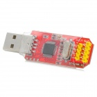 ST-LINK/V2 ST LINK STLINK STM8 STM32 Emulator Downloader - Red + Silver + Yellow