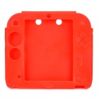 Stylish Protective Silicone Case for 2DS - Red