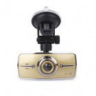 "BPeDH H8 2.7"" TFT 12.0 MP 174' Wide Angle HD Car DVR w/ AV-OUT / Auto Fill-in Light - Light Yellow"