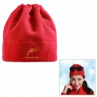 Emintribe 125103 Outdoor Windproof Warm Fleece Cap - Red
