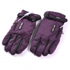 GETBEST GC6106 Motorcycle / Electromobile Rechargeable Electric Warming Woman's Gloves - Purple