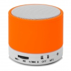 SK-S10 Universal Mini Portable Bluetooth V2.1 Speaker w/ TF Card Slot - Orange + White