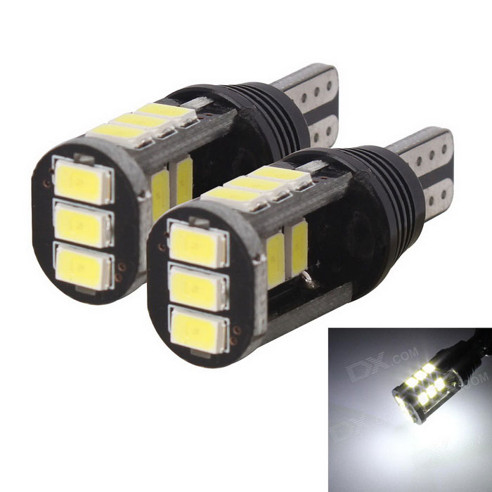 T10 7.5W 420lm 15 x SMD 5630 LED Error Free Canbus White Car Parking Lamp / Car Turn Signal Light t10 3w 144lm 6 x smd 5630 led error free canbus white light car lamp dc 12v 2 pcs page 2
