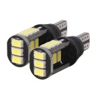 T10 7.5W 420lm 15 x SMD 5630 LED Error Free Canbus White Car Parking Lamp / Car Turn Signal Light