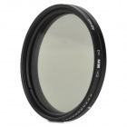 ND2-400 52mm Variable Fader Filter for Digital Camera - Black + Transparent