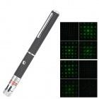 LSON 6B 5mW 532nm Green Laser Pointer - Black (2 x AAA)