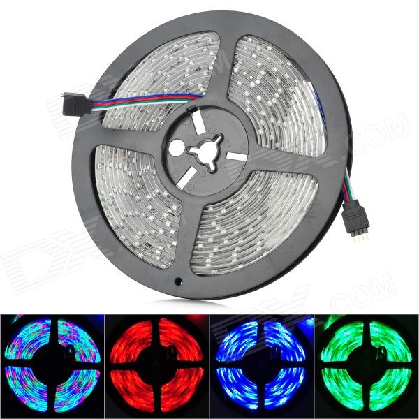 3528 Waterproof 12W 900lm 300-3528 SMD LED RGB Light Strip (5m / DC 12V) hghomeart kids led pendant lights basketball academy lights cartoon children s room bedroom lamps lighting