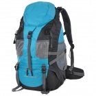 Creeper 3920 Professional Sports Mountaineer Travel Backpack - Blue + Black (50L)