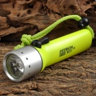 FITECH F2 Cree XR-E Q5 160lm 1-Mode Warm White Diving Flashlight - Light Green (4 x AA)