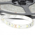 Waterproof 12W 900lm 6000K 300-3528 SMD Cold White Light Strip (5m)