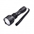 GODFIRE YJ-XGR2 CREE XR-E Q5 3-Mode 150LM White Flashlight w/ Strap - Black (1 x 18650)