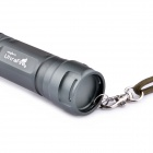UltraFire KX-004 CREE XM-L U2 5-Mode 600LM Rotational Zooming White Flashlight w/ Strap - Army Green