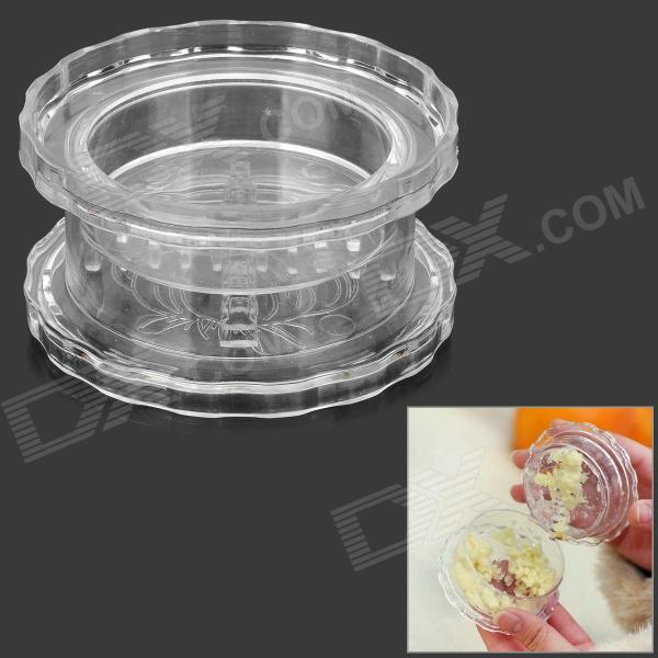 Q2 Handy ABS Garlic Grinder Shredder - Transparent