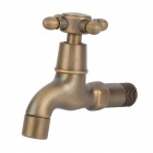 PHASAT 4410 Retro Style Brass Water Faucet - Antique Brass