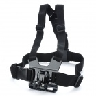 TOZ A Model Adjustable Chest Mount Harness Camcorder Shoulder Strap for Sony Action Cam -Black