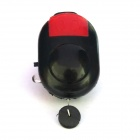 Electronic Cushion Fishing Alarm Device - Black + Red (3 x LR44)
