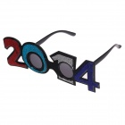 Shining Decorative UV400 Digital 2014 Glasses - Multicolored