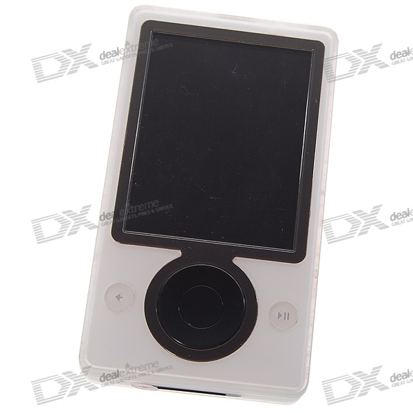 "Genuine Zune 3"" LCD 30GB Wifi Portable Digital Media Player with FM Tuner (White / Refurbished)"