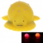 Creative Animals Series Seapard Style LED Small Night Lamp - Yellow (3 x AG10)