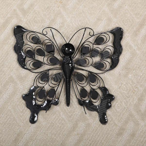 Jewelled Wall Decoration : Guoman pastoralism jewelled butterfly wall decor