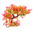 Imitation Lifelike Water Plants for Aquarium Fish Tank - Pink + Green