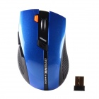 BYLINK M3 2,4-GHz-Dual-Mode-Wireless Optical Mouse w / USB-Receiver - Schwarz + Schwarz