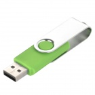 Ourspop U018 USB 2.0 Flash Drive - Green + Silver (64 GB)