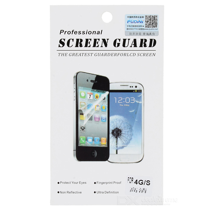 PUDINI WB-I4 protection Film de protection pour iPhone 4 / 4S - Transparent