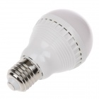 JLLT E27 5W 560lm 3200K 20-LED Warm White Light Lamp Bulb - White (AC 110~220V)