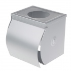 XINWEI BY-2503 Aluminum Alloy Open Toilet Paper Tissue Towel Roll Paper Holder - Silver