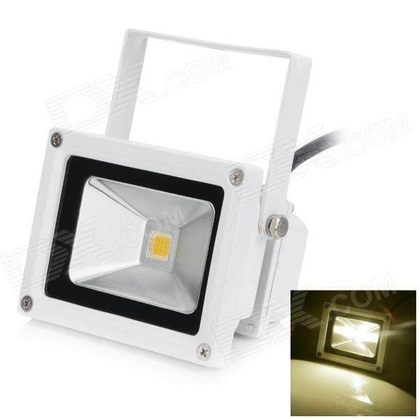 HML High Quality Waterproof 10W 720lm 3000K SMD 3030 LED Warm White Light Floodlight - (AC 100~240V)