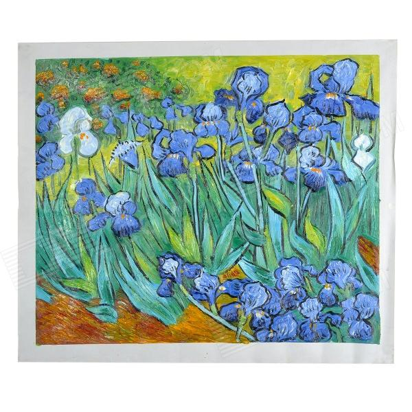 hand-painted-famous-oil-painting-the-lris-of-vincent-van-gogh-multicolored