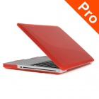 "ENKAY Crystal Hard Protective Case for MACBOOK PRO 15.4"" - Translucent Red"