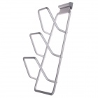 Baiyu BY-2411 Komfortable Durable Aluminum Alloy Deckel Rack - Silber