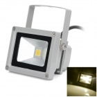 High Quality Waterproof 10W 720lm 3000K SMD 3030 LED Warm White Light Floodlight - (AC 100~240V)