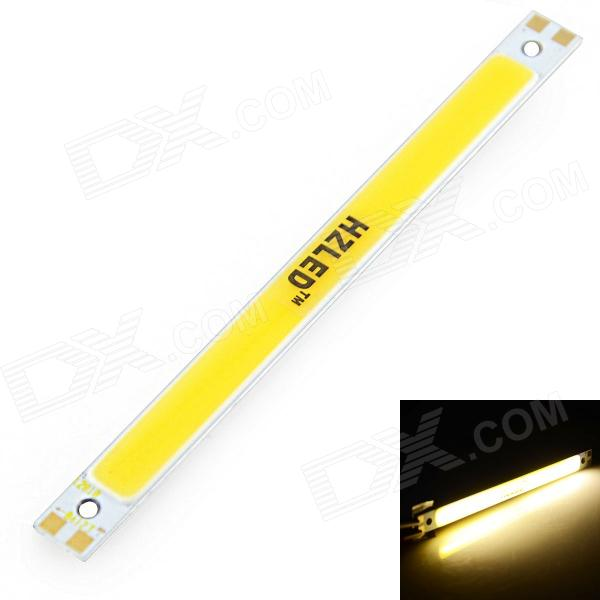 HZLED 10W 1050lm 3000K COB LED Warm White Light Strip - (12~14V)