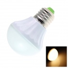TZY B2 E27 5.5W 220lm 2500K 18 x SMD 5630 LED Warm White Light Lamp Bulb - White (AC 220~240V)
