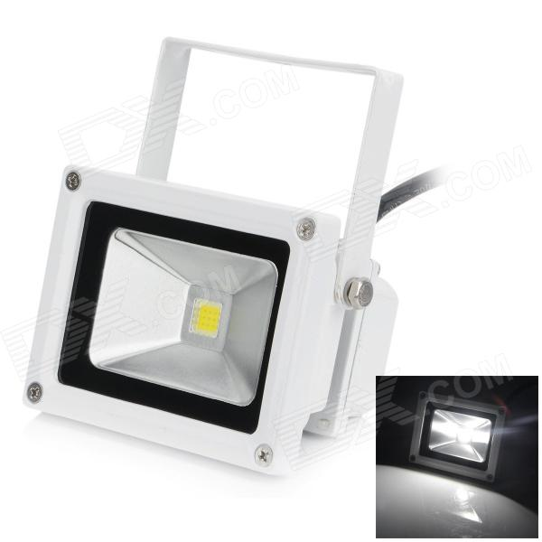 HML High Quality Waterproof 10W 720lm 6500K SMD 3030 LED White Light Floodlight - (AC 100~240V)